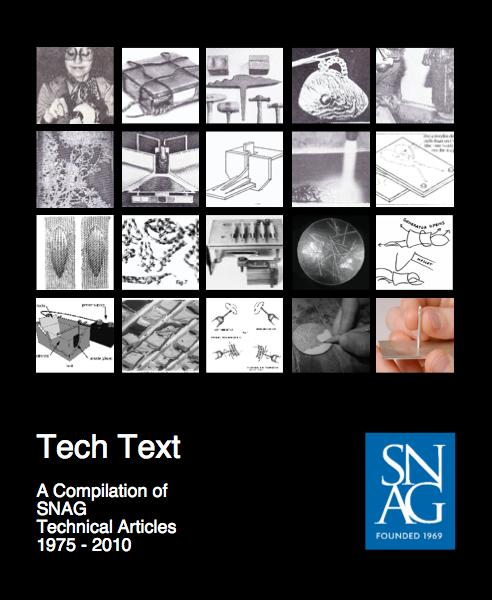 Tech Text- A compilation of SNAG technical articles from 1975- 2010