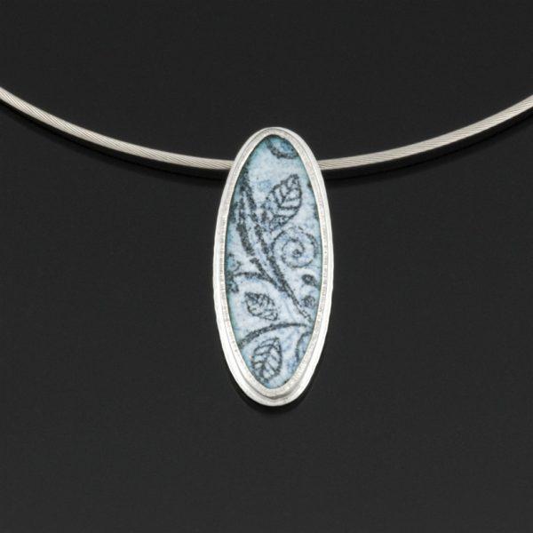 Grey Gardens Series pendant by Jewel Clark
