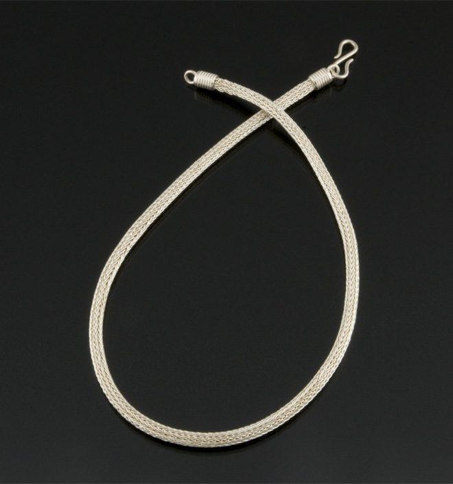 24g fine silver woven chain